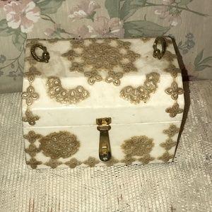 Jewelry - Shabby Chic Ivory Box